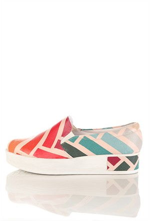 Los Ojo Tkn 011 Yüksek Sneaker Kadın Ayakkabı