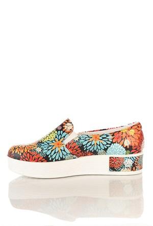Los Ojo Tkn 017 Yüksek Sneaker Kadın Ayakkabı
