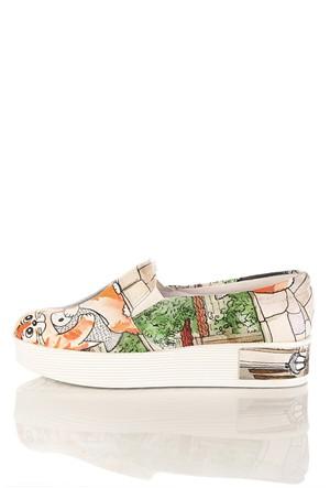 Los Ojo Tkn 019 Yüksek Sneaker Kadın Ayakkabı