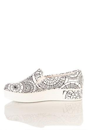 Los Ojo Tkn 020 Yüksek Sneaker Kadın Ayakkabı