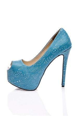 Los Ojo Turqoise Topuklu Ayakkabı
