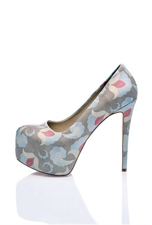 Los Ojo Vecto Topuklu Ayakkabı