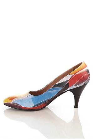 Los Ojo Ysn 005 Kısa Stiletto Kadın Topuklu Ayakkabı