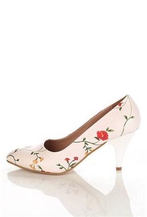 Los Ojo Ysn 008 Kısa Stiletto Kadın Topuklu Ayakkabı