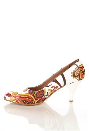 Los Ojo Ysn 020 Kısa Stiletto Kadın Topuklu Ayakkabı