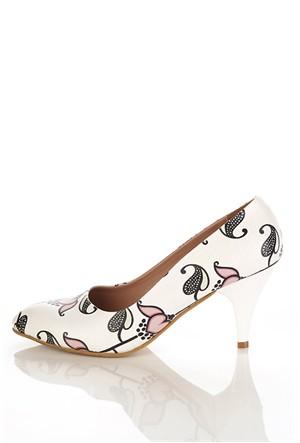 Los Ojo Ysn 025 Kısa Stiletto Kadın Topuklu Ayakkabı
