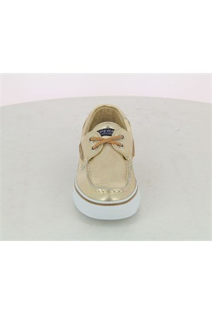 Sperry Altın Deri Loafer Sts95520