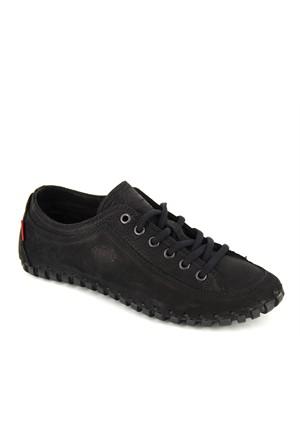 Scooter Siyah Deri Günlük Ayakkabı G1942ns