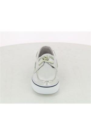 Sperry Gümüş Deri Loafer Sts95702
