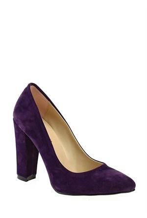 Derigo Mor Süet Kadın Ayakkabı 2818182