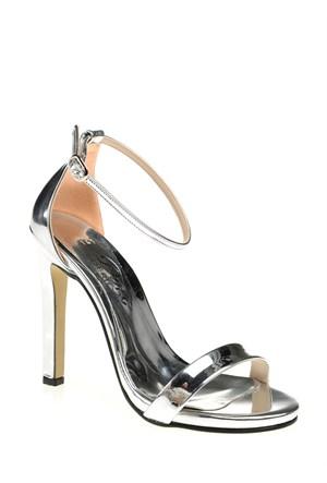 Derigo Kadın Klasik Topuklu Ayakkabı Lame