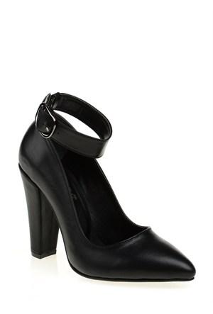 Derigo Kadın Klasik Ayakkabı Siyah