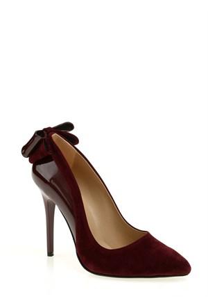 Derigo Kadın Klasik Ayakkabı Bordo