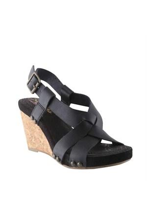 Skechers 38545-Blk Sandalet