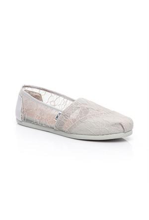 Toms Lt Lace Wm Alpr Esp 10008011.Grey Ayakkabı