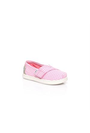 Toms Gingham Tn Alpr Esp 10007438.Pink Ayakkabı
