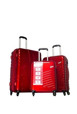 Verage Valiz Kırmızı VRG14042-SET-KIRMIZI