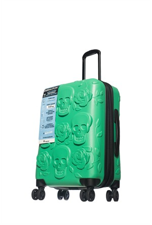 It Luggage Valiz Yeşil IT1507-S