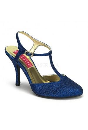 Pleaser Marka Mavi Fantezi Ayakkabı