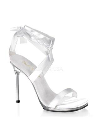 Pleaser Marka Beyaz Fantezi Ayakkabı