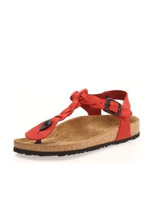 Sothe Shoes Sb-1114 Hakiki Deri Kadın Sandalet