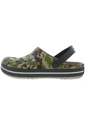 Crocs Crocband Camo Clog Erkek Sandalet Terlik