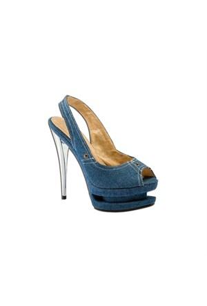 Escarpine Platform Bayan Ayakkabısı