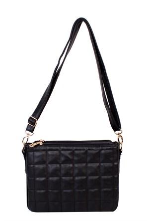 Ytş Çanta Siyah Omuz Askılı Kadın Çanta - 177