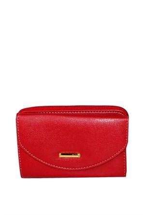 İray Çanta Kırmızı Günlük Kadın Cüzdan - 511