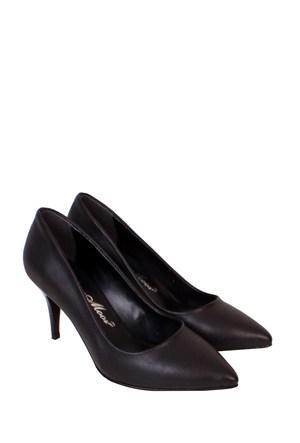 Mina Moor Ayakkabı Siyah Klasik Kadın Ayakkabı - 11905