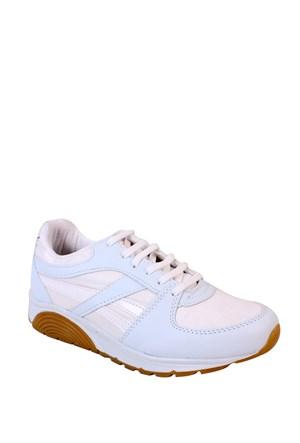 Kaya Dericilik Beyaz Kadın Spor - 1882 Zenne Spor Ayakkabı