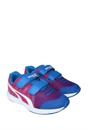 Kaya Dericilik Mavi Spor Filet Erkek Çocuk Ayakkabı - 700