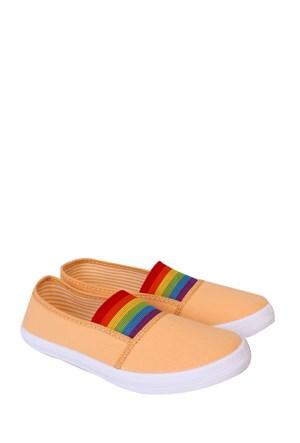 Altınbaş Ayakkabı Somon Kız Çocuk Filet Keten Ayakkabı - 18404