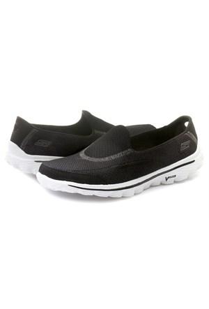 Skechers Go Walk 2 Bayan Ayakkabı 13590-Bkw