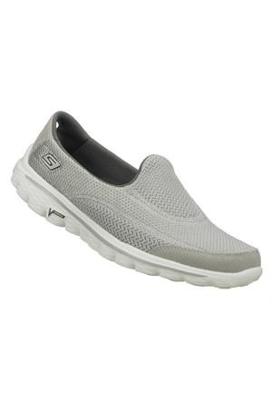 Skechers Go Walk 2 Bayan Ayakkabı 13590-Gry