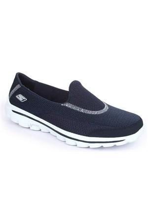 Skechers Go Walk 2 Bayan Ayakkabı 13590-Nvy