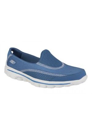 Skechers Go Walk 2 - Spark Bayan Ayakkabı 13591-Blue