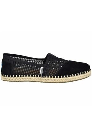 Toms 10007852 Black Mesh Wh Alpr Esp Kadın Günlük Ayakkabı