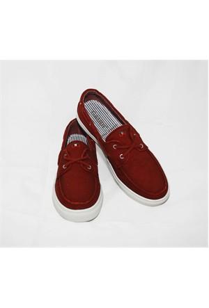 Gaudi 206 Bordo Ayakkabı