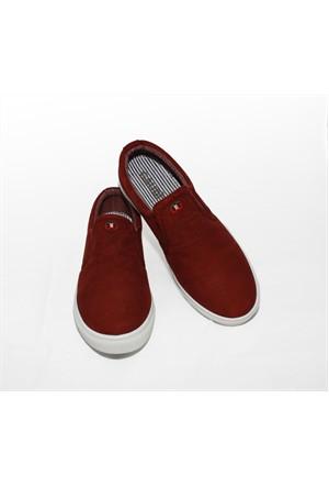 Gaudi 257 Bordo Ayakkabı