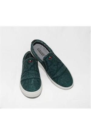 Gaudi 256 Haki Ayakkabı