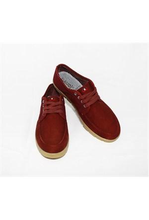 Gaudi 356 Bordo Ayakkabı