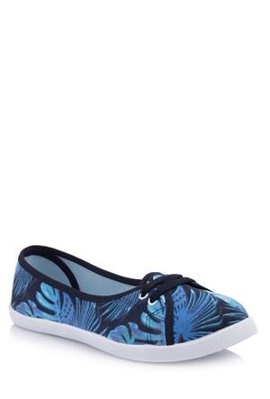 Defacto Kadın Desenli Kanvas Spor Ayakkabı