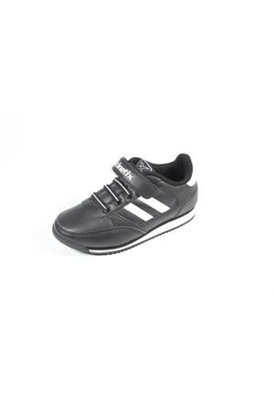 Kinetix Tramor Siyah Beyaz Çocuk Spor Ayakkabı