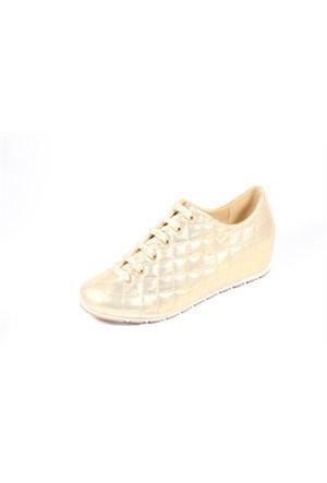 Capriss 702 Altın Kadın Ayakkabı