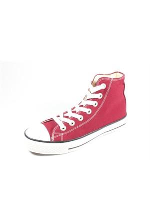 Etayger 244-5107 Bordo Kadın Spor Ayakkabı