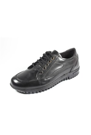 New Vision 257-Bh-405 Siyah Erkek Ayakkabı