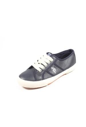 U.S. Polo 277023 La Paz Lacivert Kadın Ayakkabı