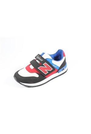 Wyless 259-975 Siyah Beyaz Çocuk Ayakkabı