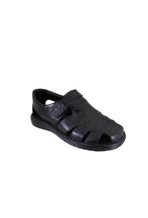 Punto 342203-01 Erkek Günlük Deri Sandalet